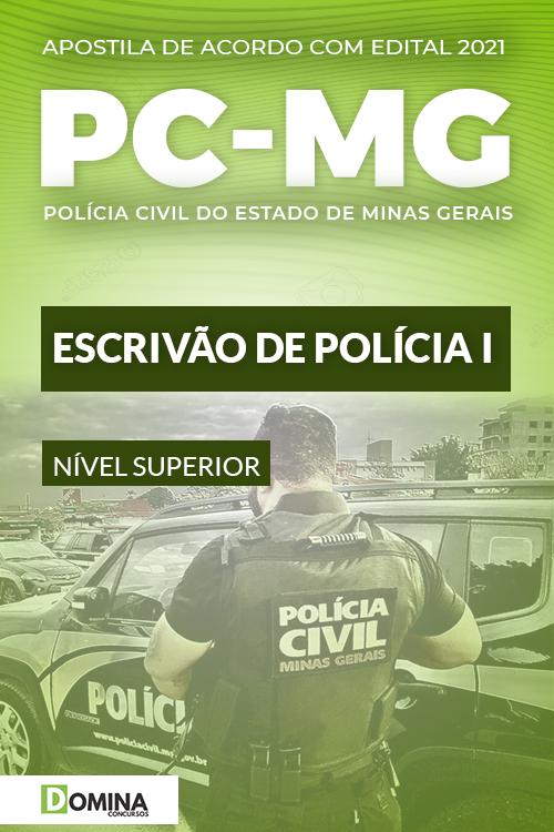 Apostila Concurso PC MG 2021 Escrivão de Polícia I