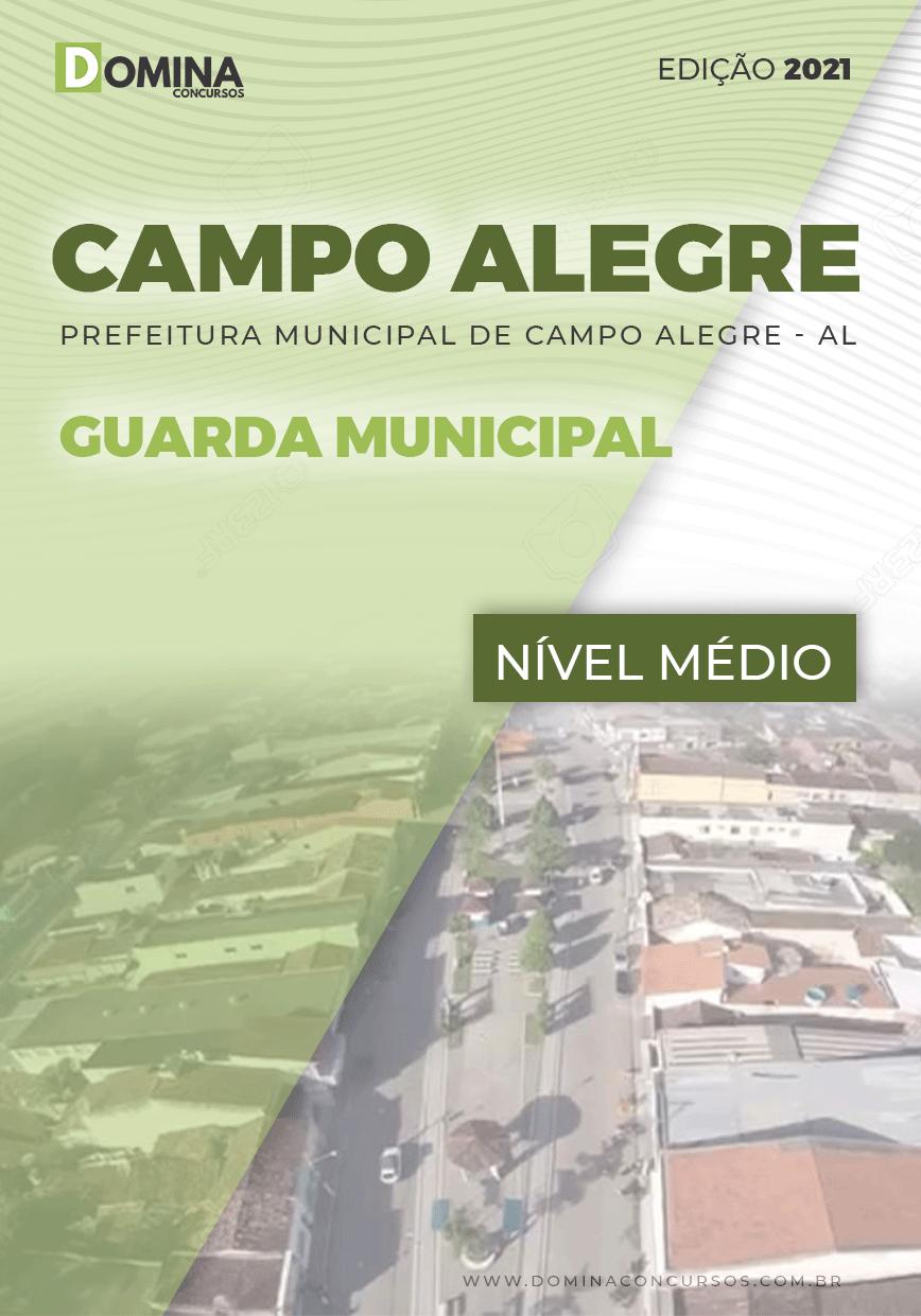 Apostila Concurso Pref Campo Alegre AL 2021 Guarda Municipal