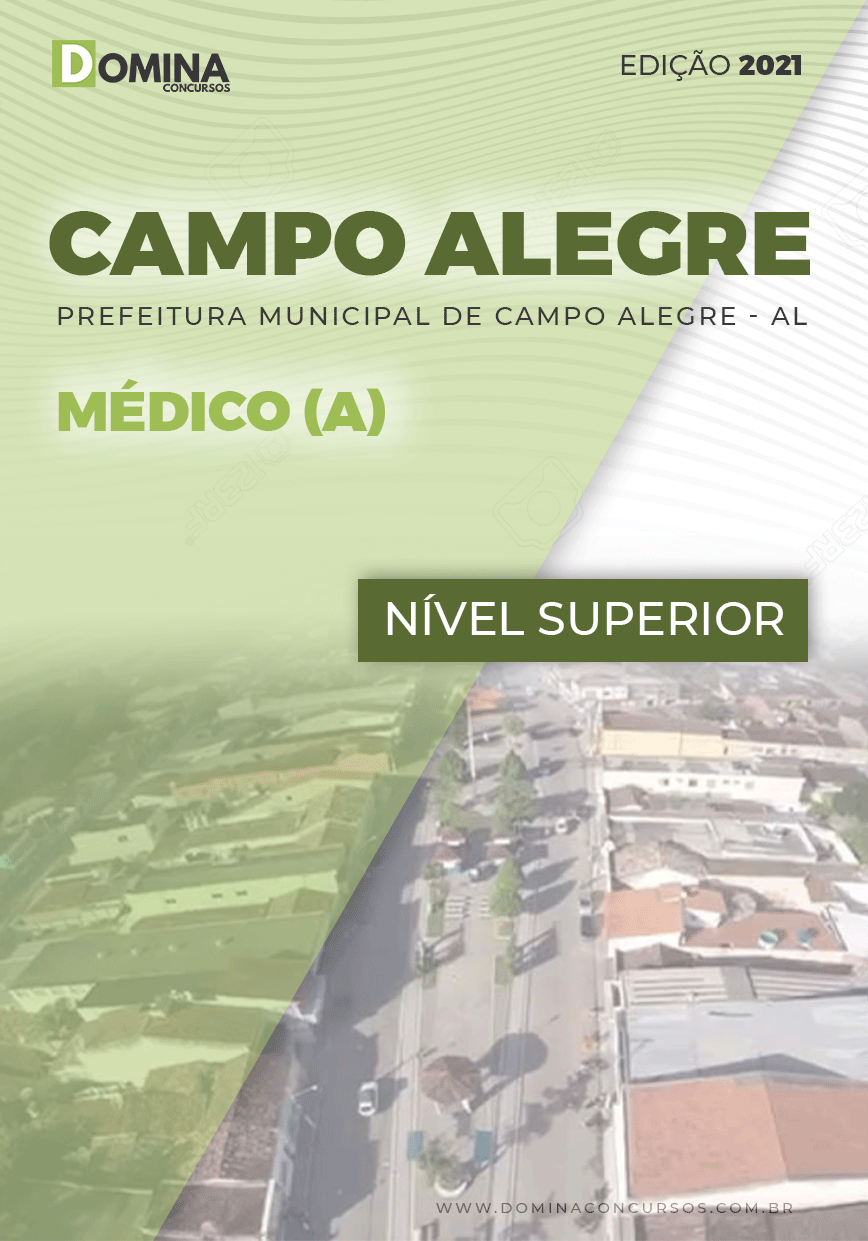 Apostila Concurso Pref Campo Alegre AL 2021 Médico
