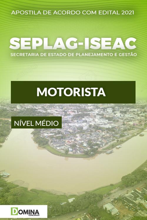 Apostila Concurso SEPLAG ISE AC 2021 Motorista