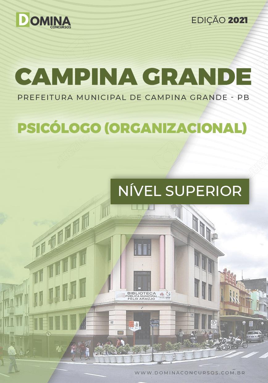 Apostila Pref Campina Grande PB 2021 Psicólogo Organizacional