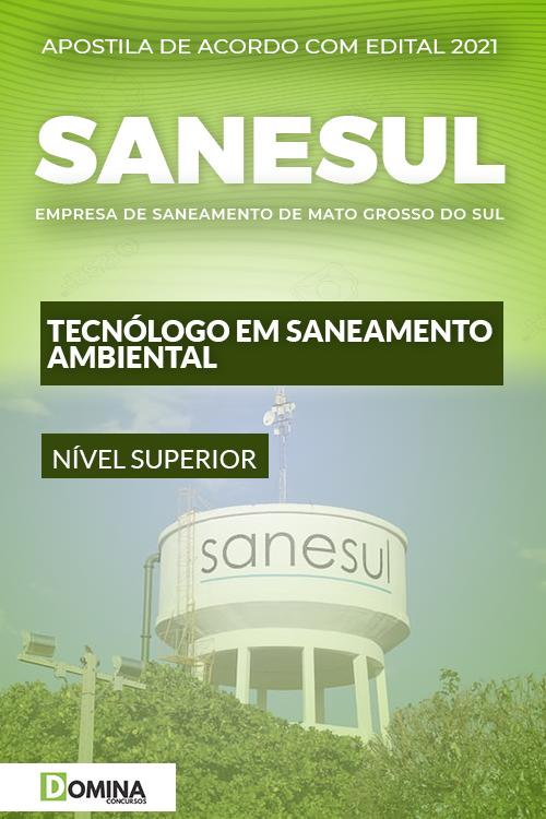 Apostila SANESUL MS 2021 Tecnólogo Saneamento Ambiental